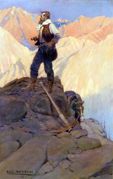 El Prospector de N. C. Wyeth