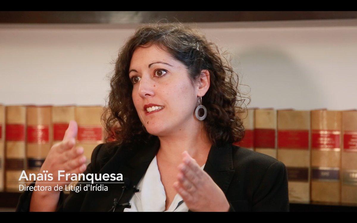 Anaïs Franquesa, directora de litigio de IRIDIA