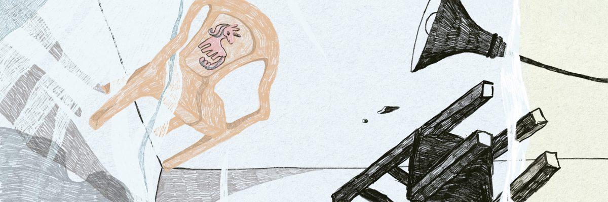 Fragmento de la ilustración realizada por Ilu Ros para la versión en papel de este especial