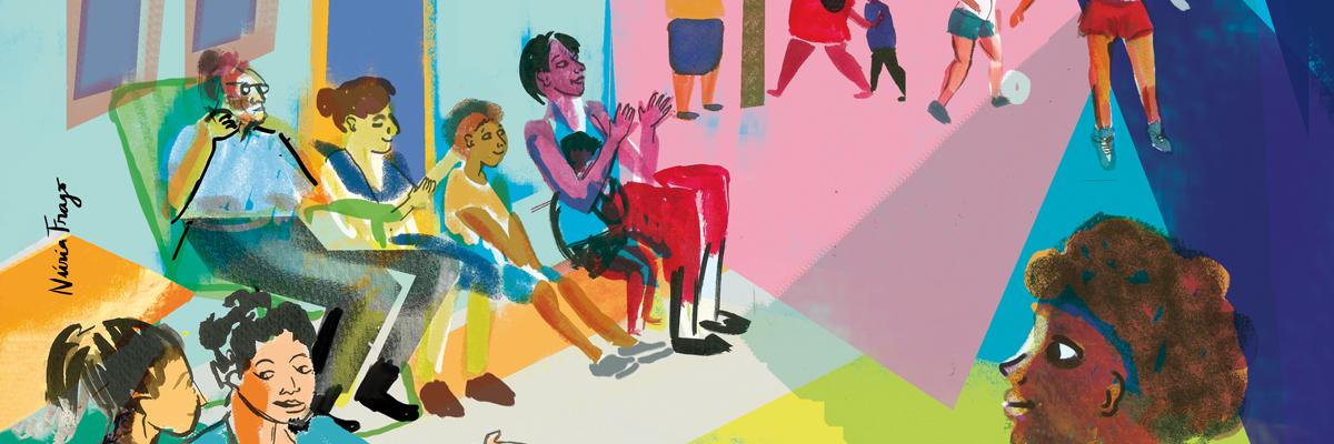 Fragmento de la ilustración de Nuria Frago