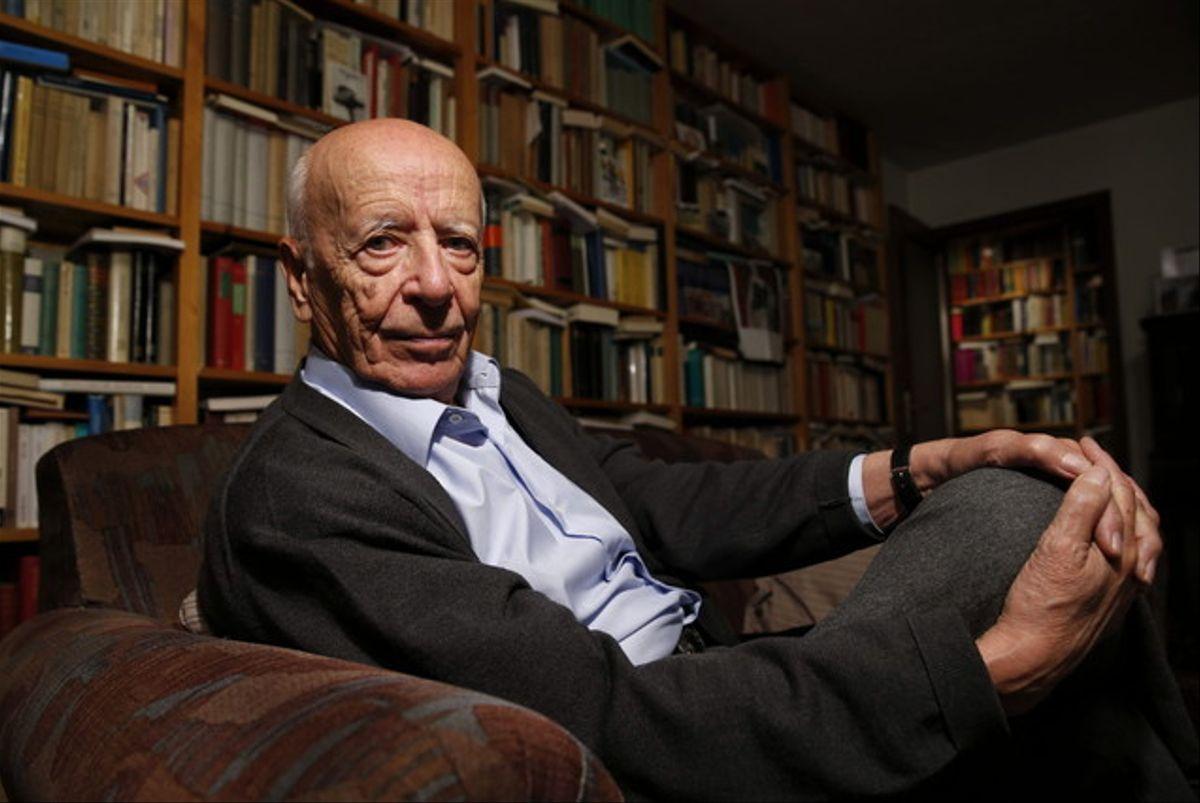 El filósofo Emilio Lledó, en 2014. — Kiko Huesca / Efe