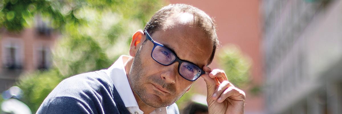 El exdirector de El Mundo David Jiménez.- CHRISTIAN GONZÁLEZ