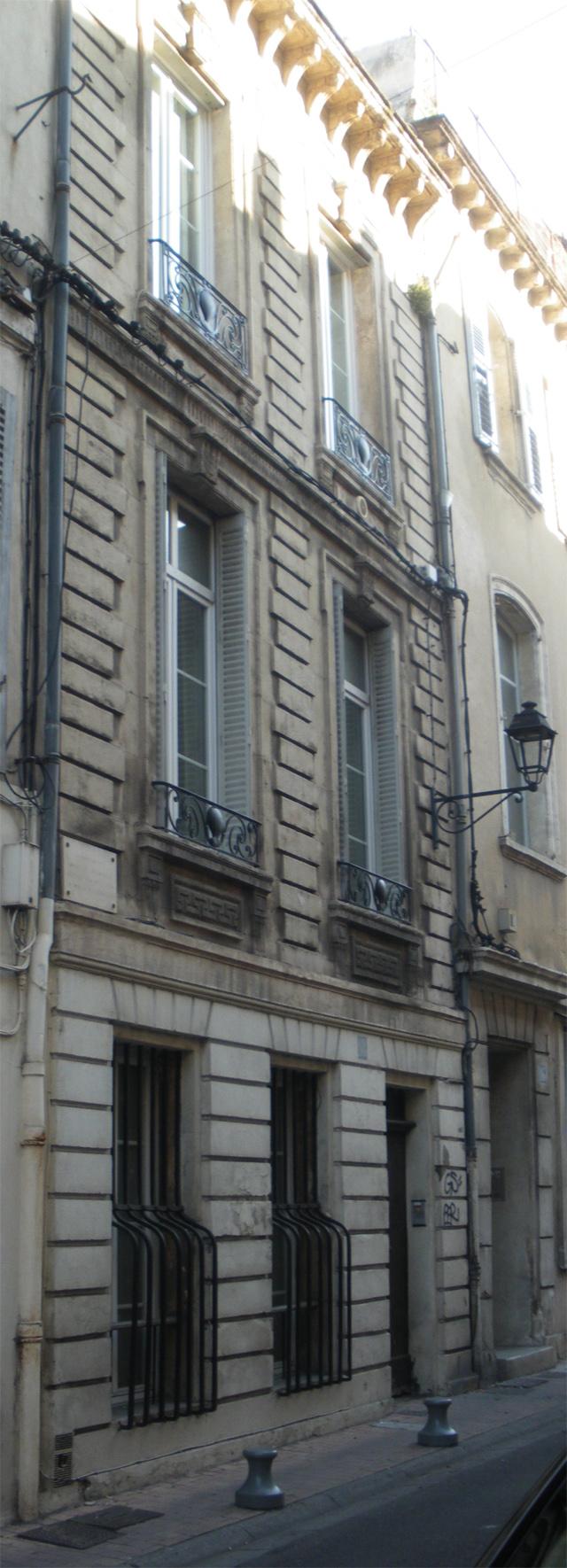 Casa de los globos de Avignon.