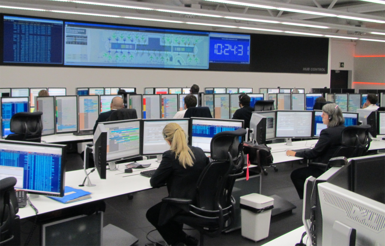 Hub control