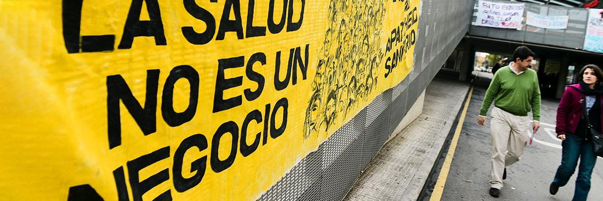 Protestas contra los recortes en Sanidad.- AFP PHOTO / JAVIER SORIANO