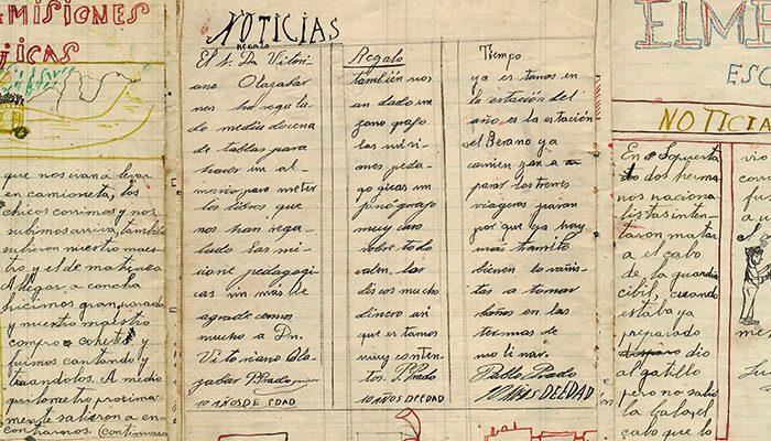 Cuaderno escolar de Luis Montiel, 1931.- ARCHIVO FAMILIAR
