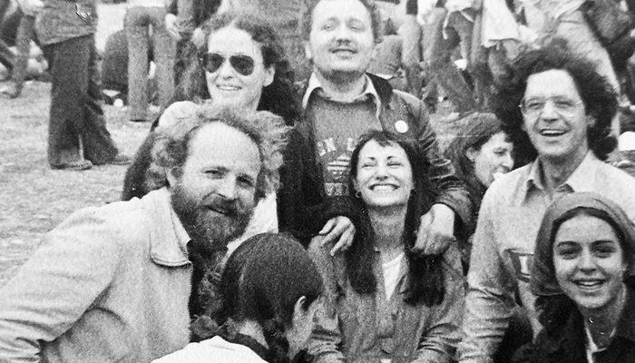 utxi, en Villalar de los Comuneros, el 23 de abril de 1978. / ARCHIVO FAMILIAR