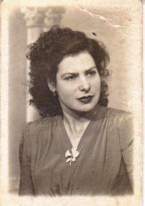 Concha, la abuela de la autora.- ARCHIVO FAMILIAR