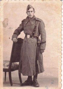 El abuelo de la autora, Francisco.- ARCHIVO FAMILIAR